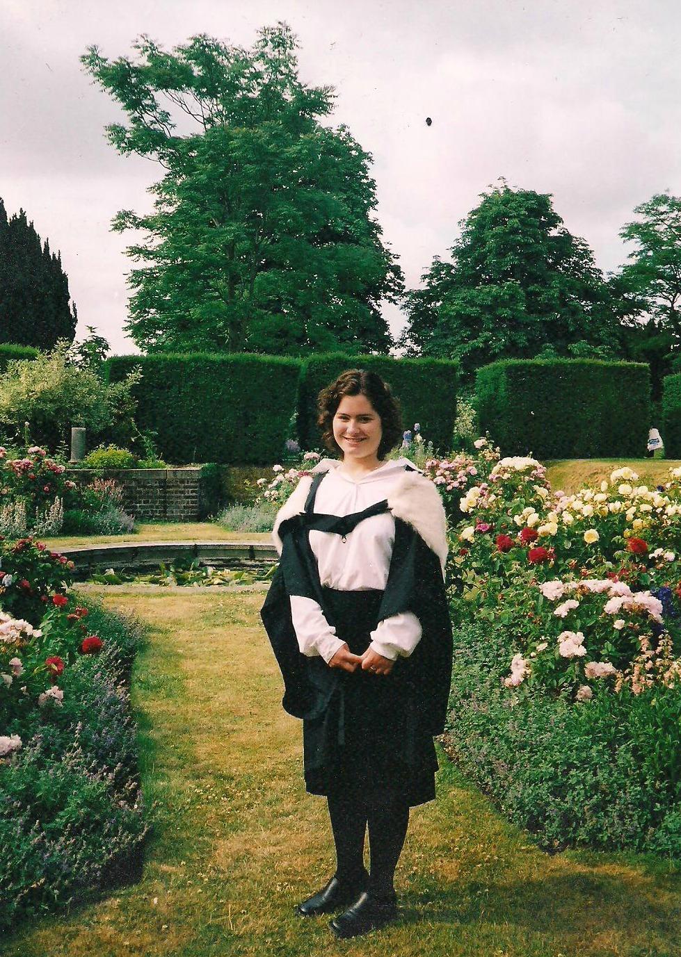 Lucy Parsons BA Graduation Newnham College, Cambridge