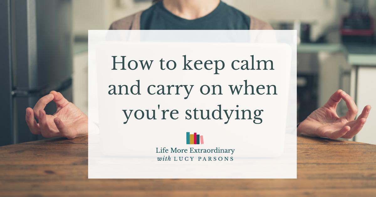 Meditation and Study