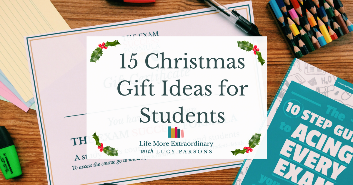 15 Christmas gift ideas for students