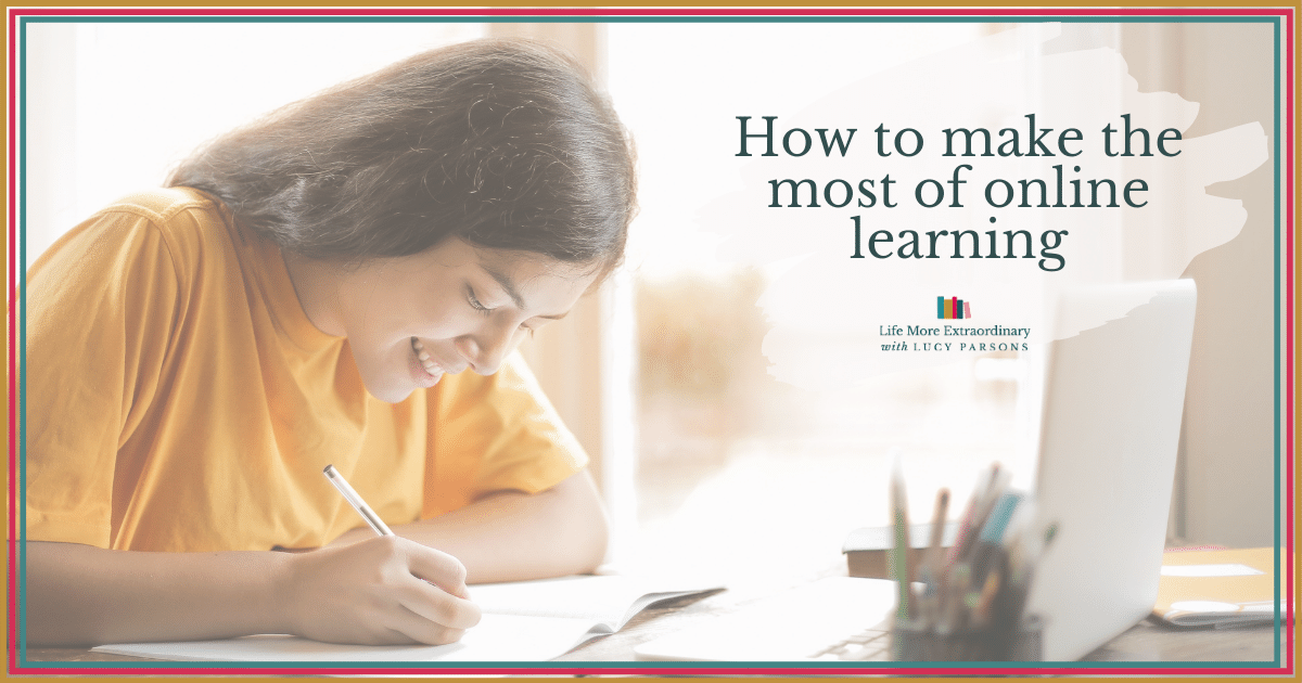 How to make the most of online learning