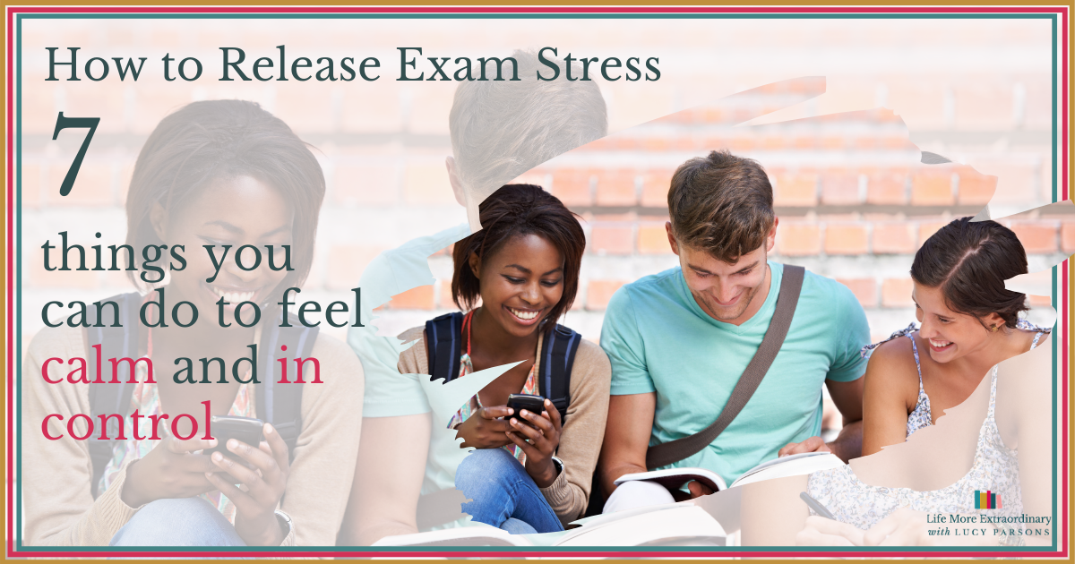 how to release exam stress