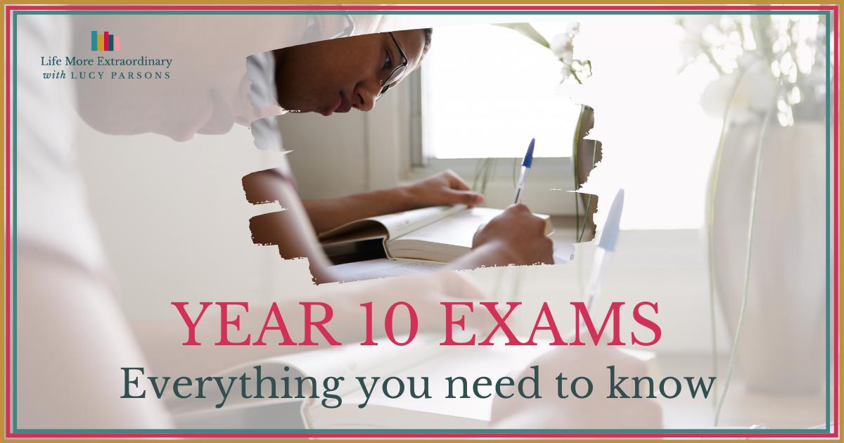 Year 10 exams